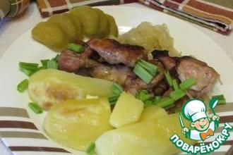 """Картофель с курицей """"Любимый обед"""""""