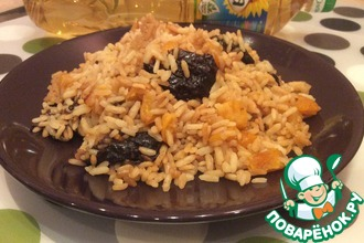 Сладкий рис по-индийски с сухофруктами