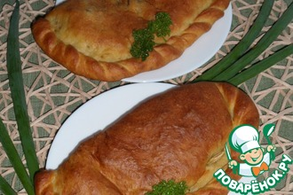 Горчичные пироги с красным рисом