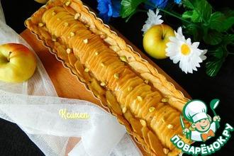 Тарт яблочный с марципаном
