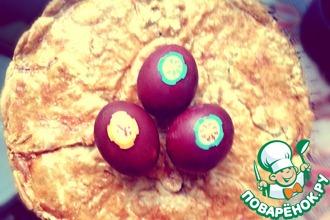 Сырно-грибной пирог
