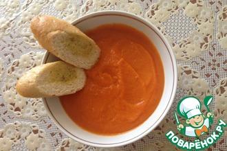 Томатно-бататный суп-пюре