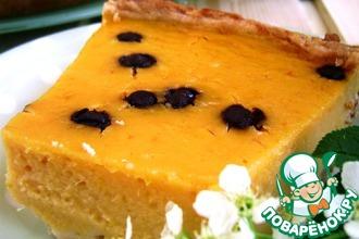Тыквенный тарт «Подарок солнышку»