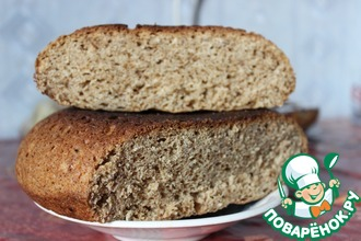 Хлеб ржаной на солоде в мультиварке