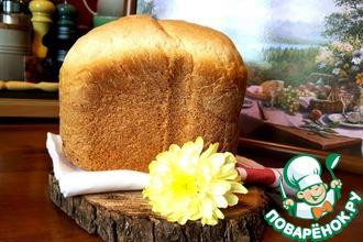 Ароматный пшеничный хлеб с адыгейской солью