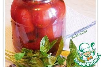 Консервированные помидоры с кетчупом