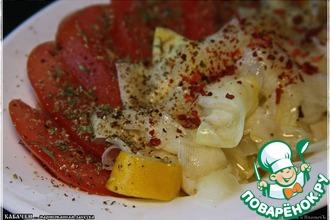 Маринованная закуска из кабачков