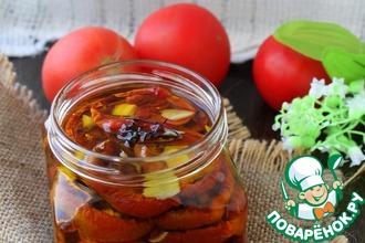 Вяленые помидоры с имбирем