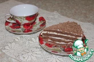 """Торт """"Медовик"""" шоколадный"""