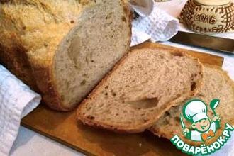 Необычный малодрожжевой хлеб