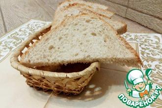 Малодрожжевой хлеб с цельнозерновой мукой