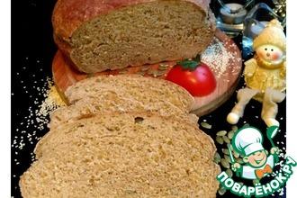 """Хлеб серый семенной """"Для любимых"""""""