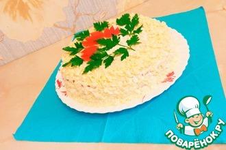 Кабачковый закусочный торт