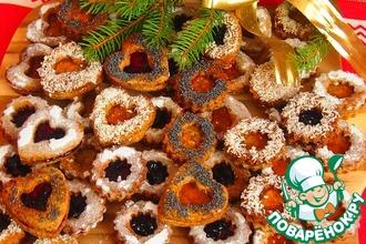 Маковое рождественское печенье