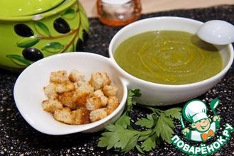 Суп-крем из шпината от Джулии Чайлд