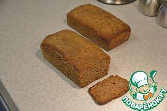 Простой ржаной хлеб на закваске