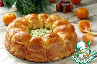Сырные булочки с сырно-грибным кремом