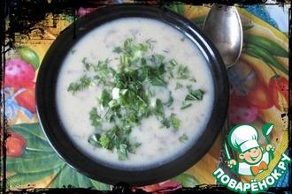 """Картофельно-луковый суп """"Типлокастра"""""""