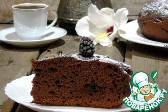 Свекольно-шоколадный пирог