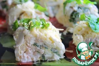 """Закусочный салат из кальмаров """"Моя прелесть"""""""