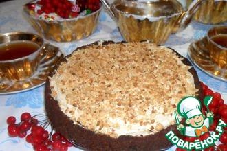Торт с арахисовым кремом