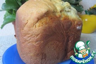 Хлеб с плавленым сыром