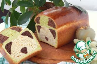 """Сладкий хлеб """"Панда"""""""