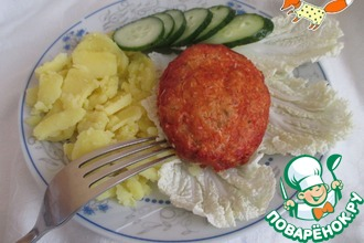 """Рыбные котлеты """"Копчёные"""" в томатной заливке"""