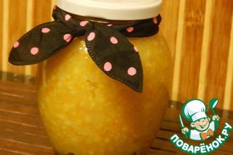 Варенье из апельсинового жмыха