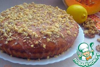 Тыквенно-ореховый пирог