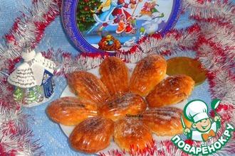 """Печенье """"Новогодние ракушки"""" с предсказаниями"""