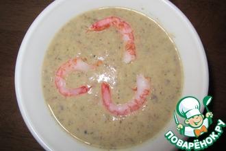 Суп-пюре из морепродуктов