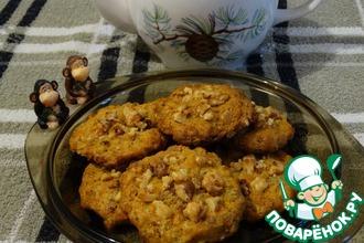 Рисово-овсяное печенье с апельсиновым ароматом