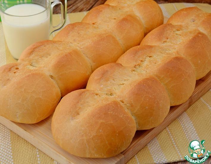 Батоны пшеничные