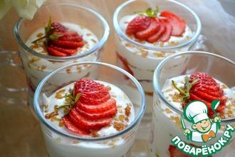 Творожно-йогуртовый десерт