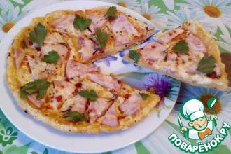Хрустящая пицца в мультиварке