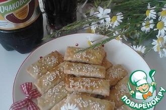 Хрустящее печенье с кунжутом