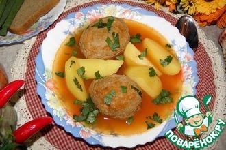 "Армянский суп ""Кололик"""