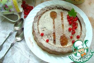 Пирог с красной смородиной и щавелём