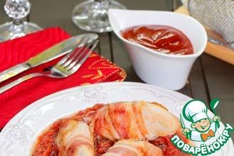 Сочное куриное филе в томатном соусе