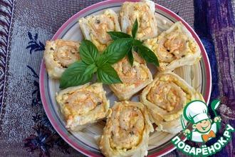 Булочки с сыром и базиликом
