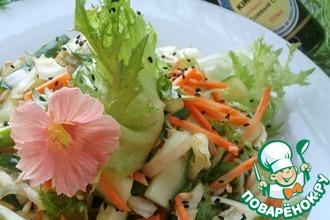 Очаровательный овощной салат «Свежесть»