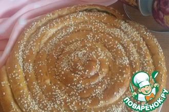 Пирог со щавелем и рикоттой