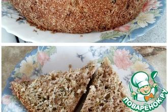 Хлеб на закваске с зеленью
