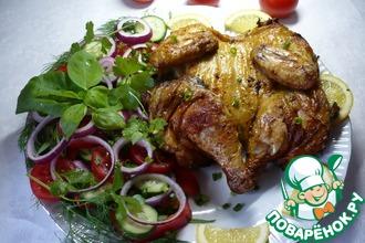 Цыпленок на гриле с приправой для курицы