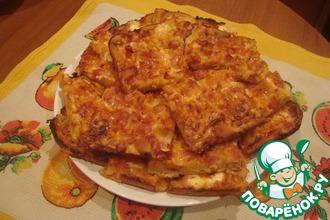 Пицца на жидком тесте