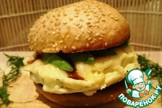 Идеальный яичный сэндвич за 5 минут