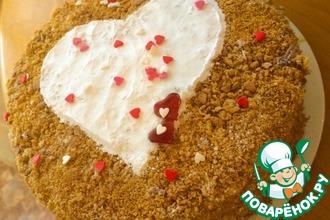 """Торт """"Рыжее сердце"""""""