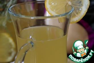 Лимонад с розмарином и имбирем