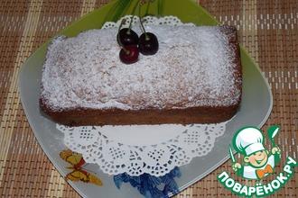 Кекс с коричневым сахаром и ягодами